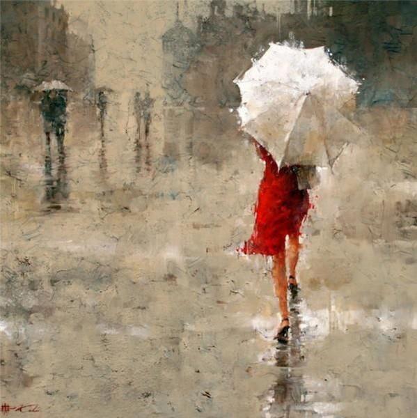 дождь на воде фото