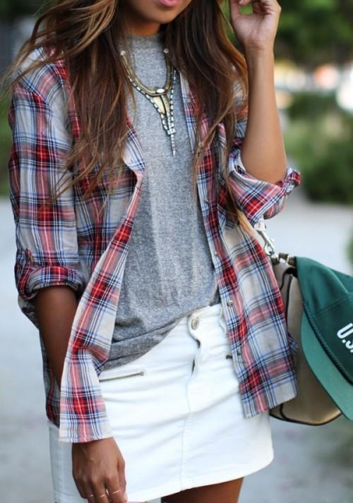 фланелевая рубашка 1