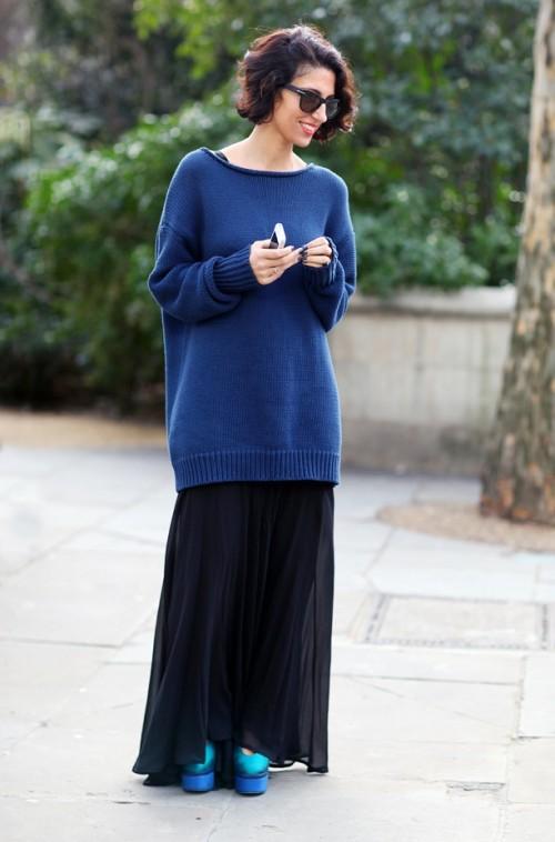объемный свитер 1