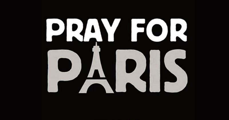 PrayForParisTribute