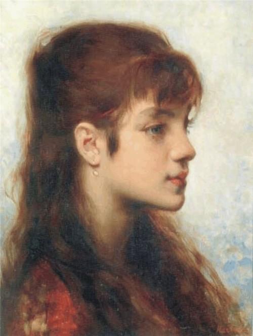 Портрет девочки, 1882