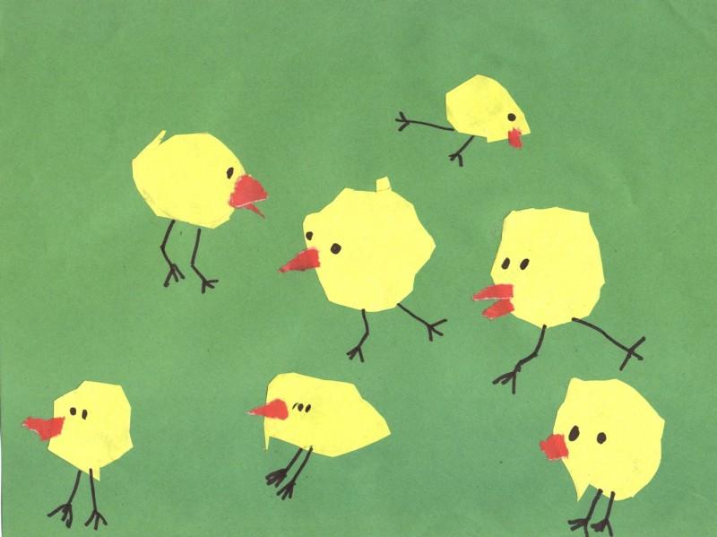 Рисуем цыплят, или Главный признак успешного воспитания