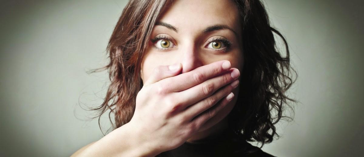 Девушка дала за молчание