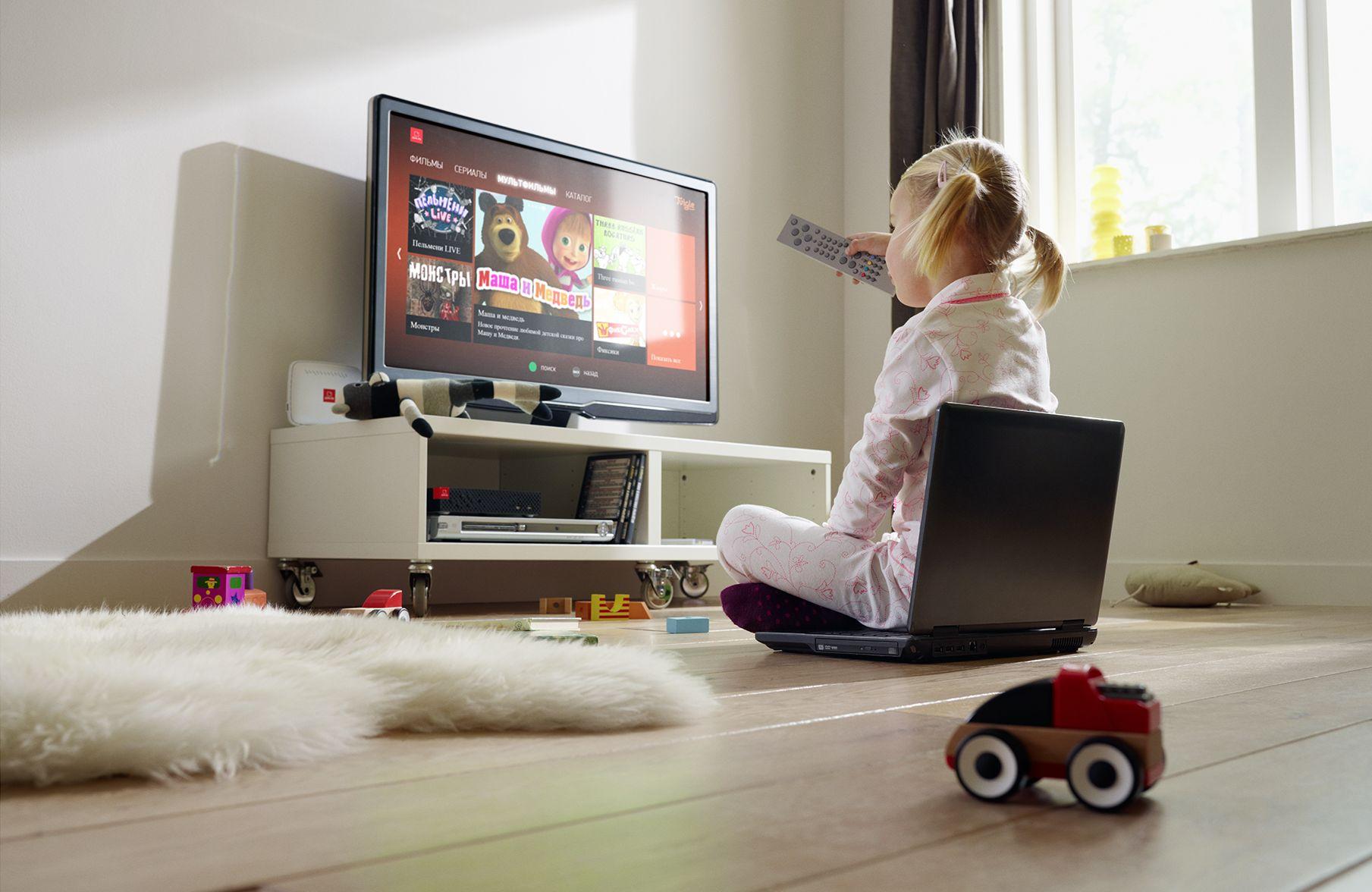 Телевизор для ребенка