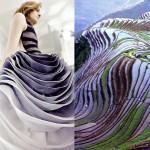 Мода + природа = удивительные коллажи Лилии Худяковой