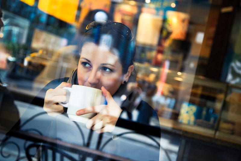 Girl-in-cafe