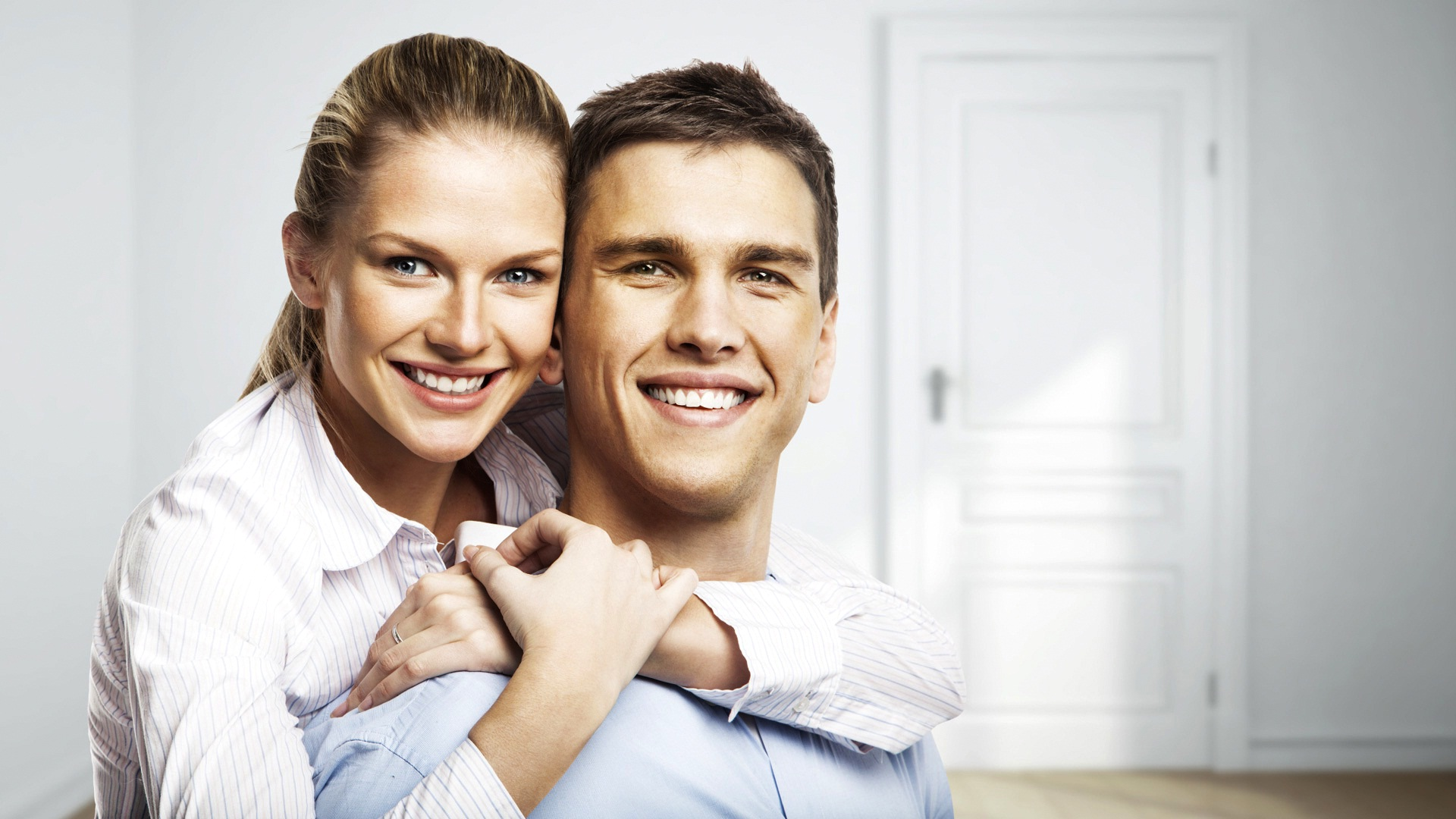 Молодая пара муж и жена — 6