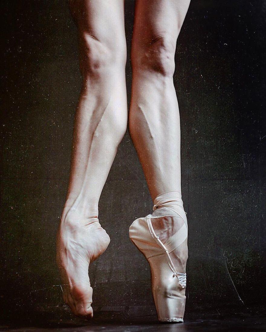 Как сделать балетную ногу