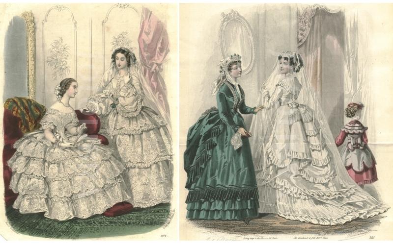 В чем шли под венец в XIX веке