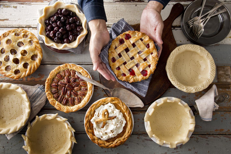 Как сделать верхушку пирога