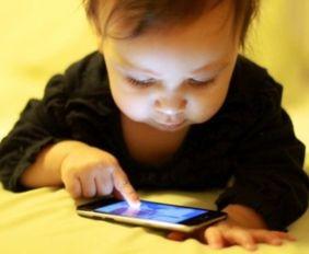 Детство с айфоном в руках