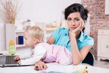 Чувство вины работающей мамы: есть ли основания?