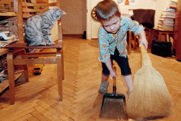 Надо ли приучать ребенка к труду?