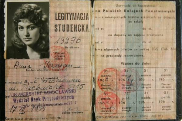 Студенческий билет Анны
