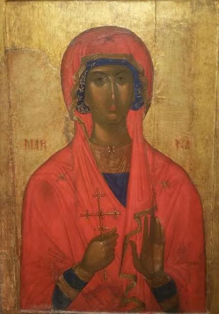 Святая мученица Марина. XIV век.