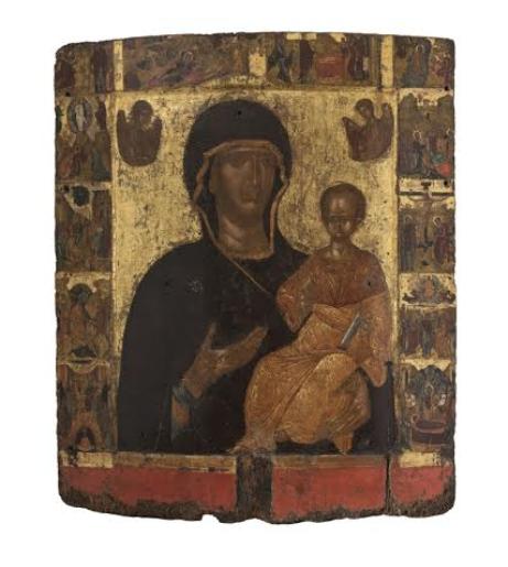 В Третьяковской галерее открылась выставка Шедевры Византии