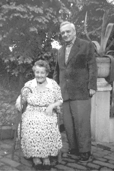 Елена Киселева и Антон Билимович. 1959 г. Семейный архив Ольги Матич, США.