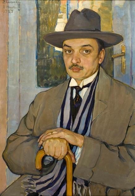 Портрет А.Д. Билимовича 1925.