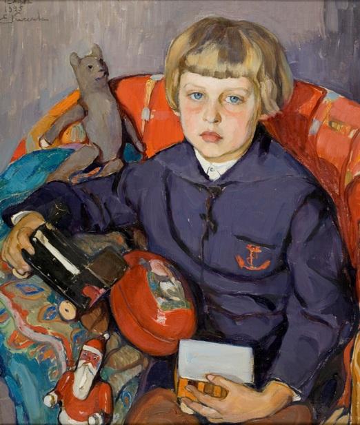 Портрет сына. 1925.