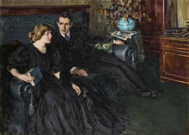 Ревность. 1907.