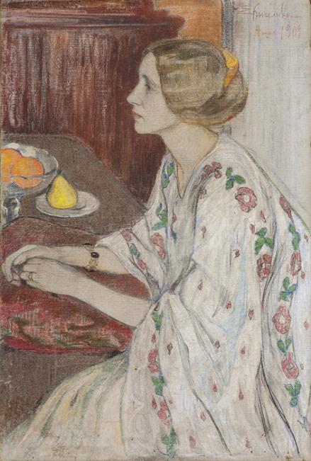 Портрет Лизы. 1909.