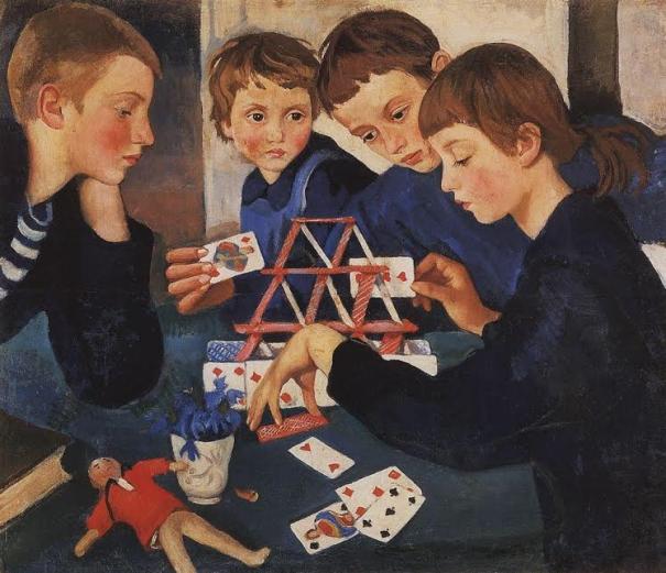 Карточный домик. 1919.