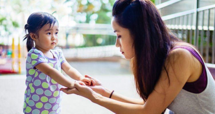 Я никогда не повышу голос на своего ребенка