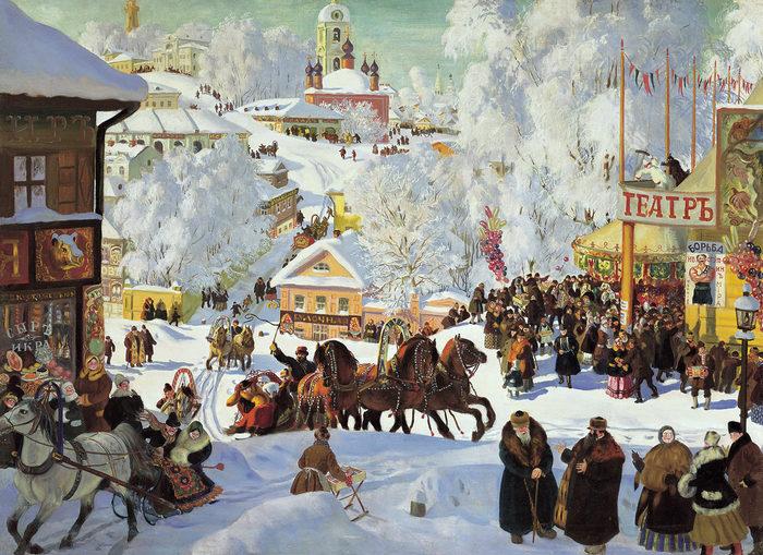 15 зимних пейзажей в истории мировой живописи