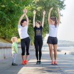 «Мама на бегу». Многодетные – на марафоне!