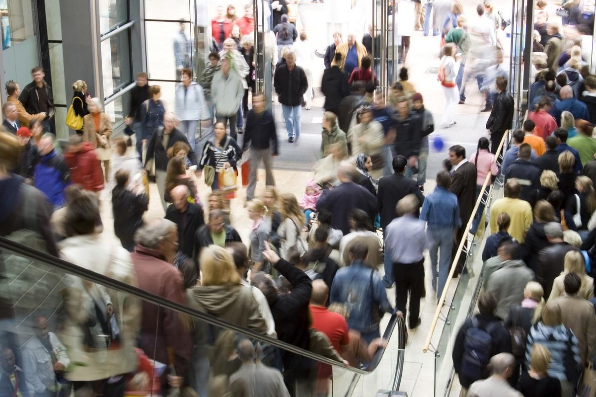 Правила поведения в торговом центре при пожаре