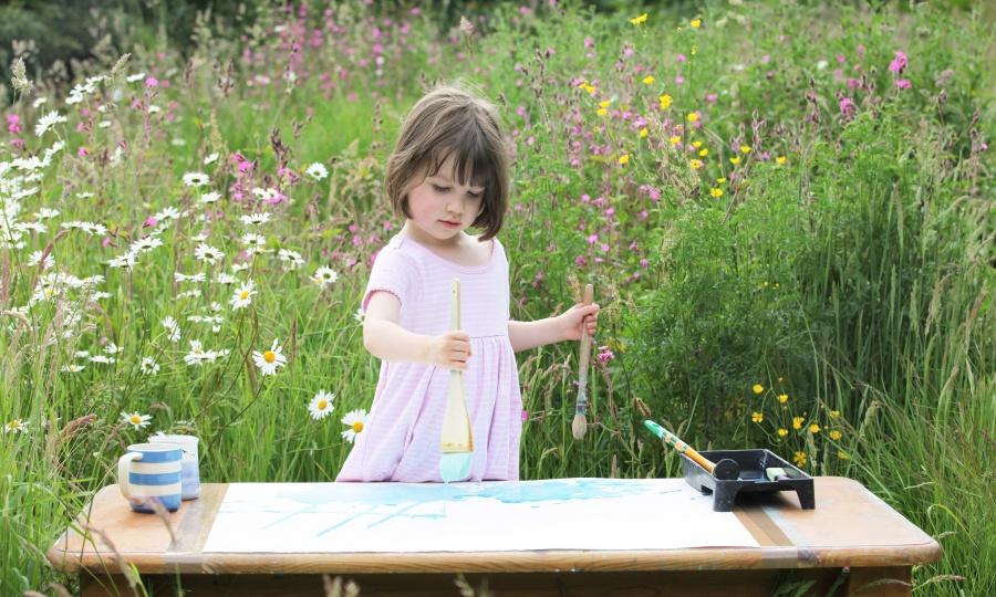 Айрис Грейс: девочка с аутизмом, ставшая признанной художницей