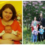 После второго ребенка я весила 112 килограммов, а после пятого — 59