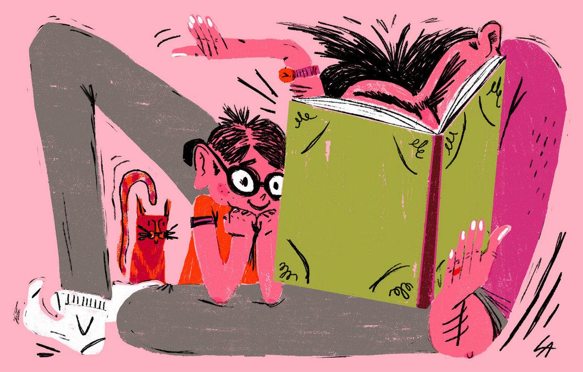 Что происходит в мозге вашего ребенка, когда вы читаете ему книгу