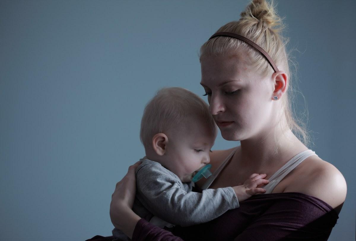 Молодой маме, которая целыми днями ничего не делает