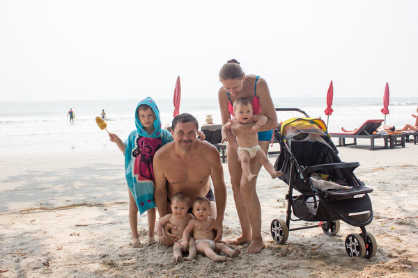 Записки мамы тройни: операция Таиланд