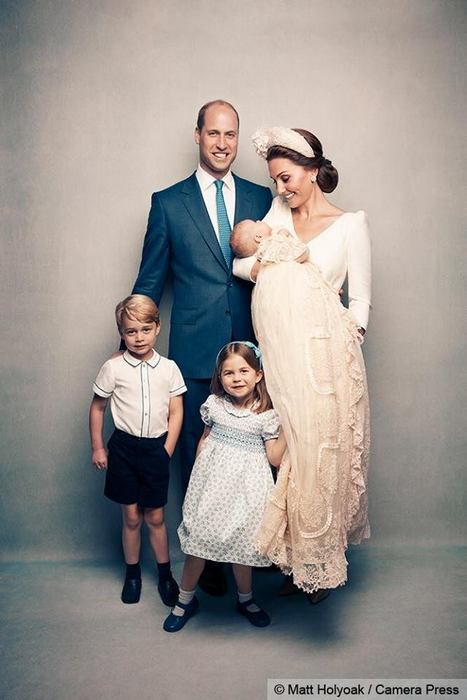 В королевской семье крестили принца Луи