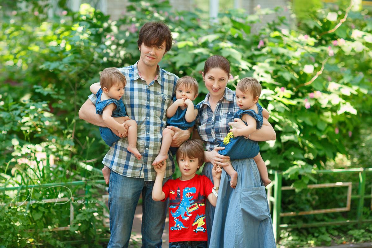 Записки мамы тройни: тройняшкам год