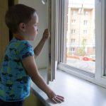 Окна: опасность для детей!