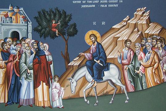 Проповедь митрополита Антония Сурожского на Вход Господень в Иерусалим