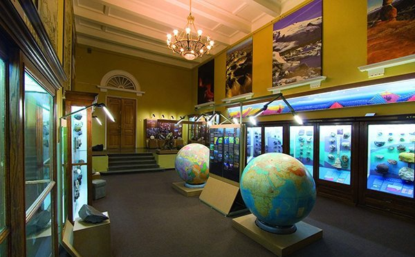 Живая Геология: новое в музее