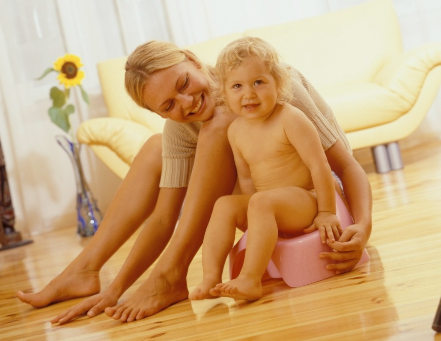 Ребенок и горшок: точки соприкосновения