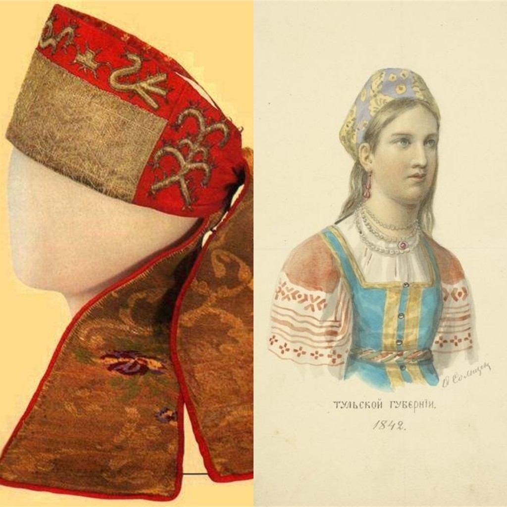 Выкройка русский костюм женский это