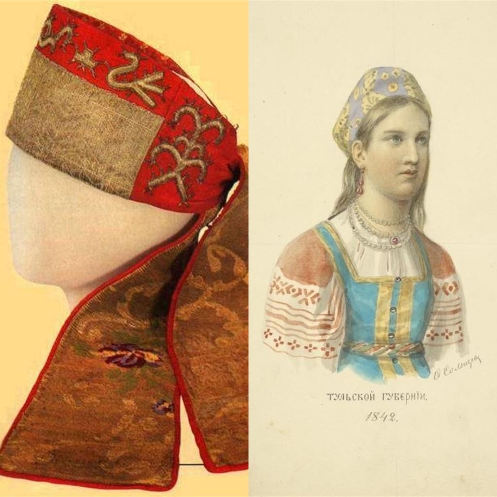 Древнерусскаякорона замужней бабы