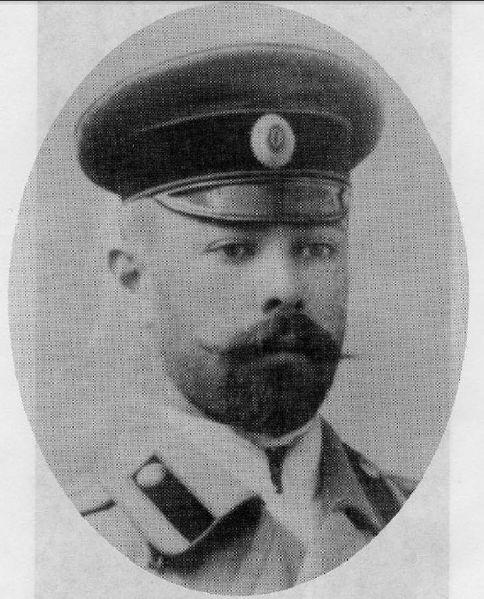 Выпускник Киевского юнкерского училища, 1893 год