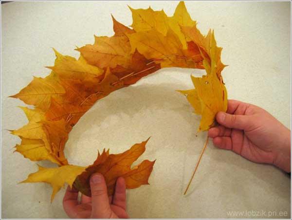 Как сделать объемные листья фото 780
