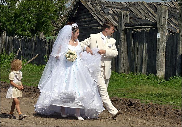 Выйти замуж за… платье