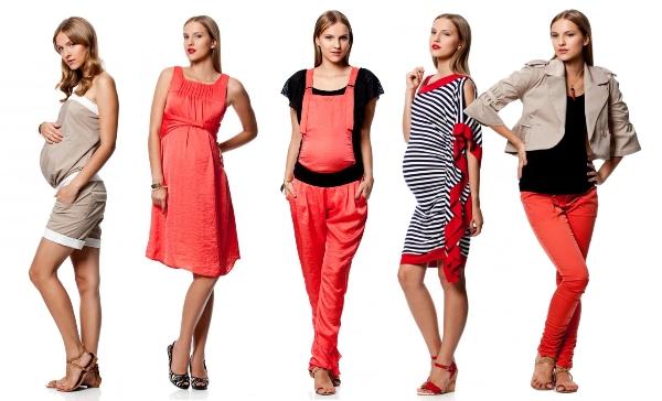 Как с помощью одежды скрыть живот при беременности
