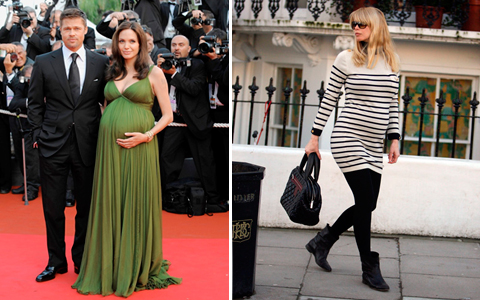 Платья ниже колен для беременных