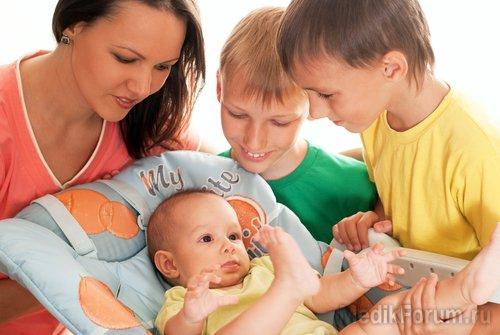 Младший ребенок в семье