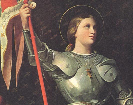 Жанна д - Арк: стратег, мистик, посланница Небес